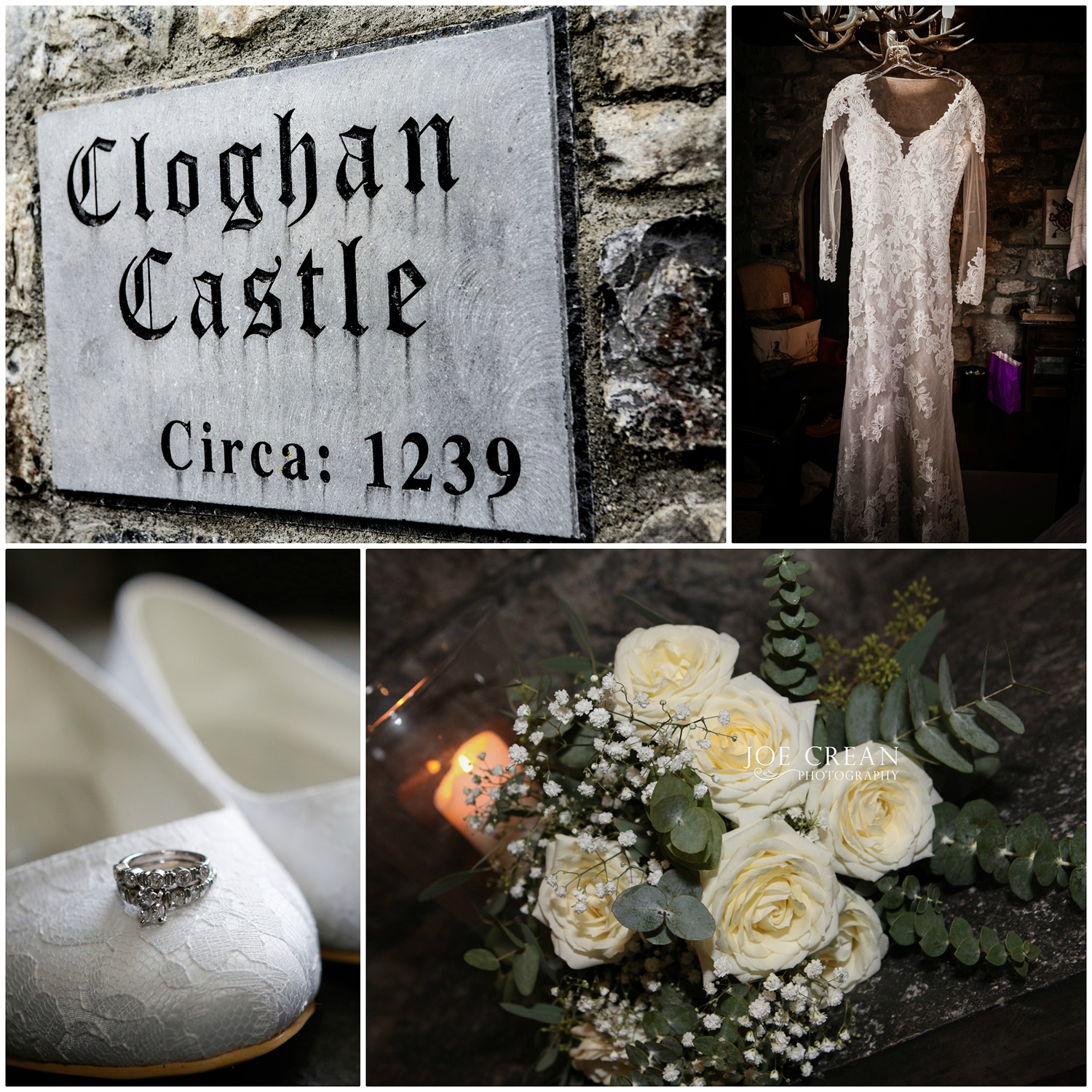 Cloghan Castle wedding